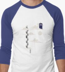 He lives on a cloud in the sky Baseball ¾ Sleeve T-Shirt