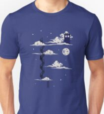He lives on a cloud in the sky Unisex T-Shirt