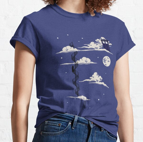 He lives on a cloud in the sky Classic T-Shirt