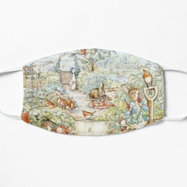 Beatrix Potter Storybook Characters in Garden Mask
