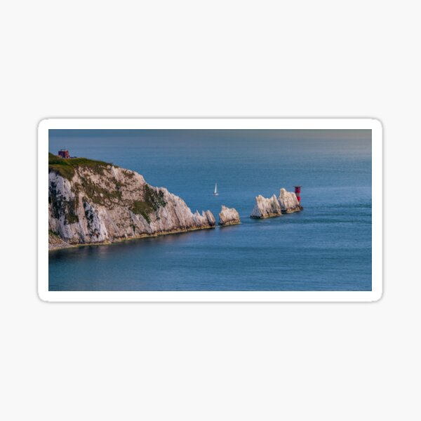 The Needles Isle Of Wight Sticker