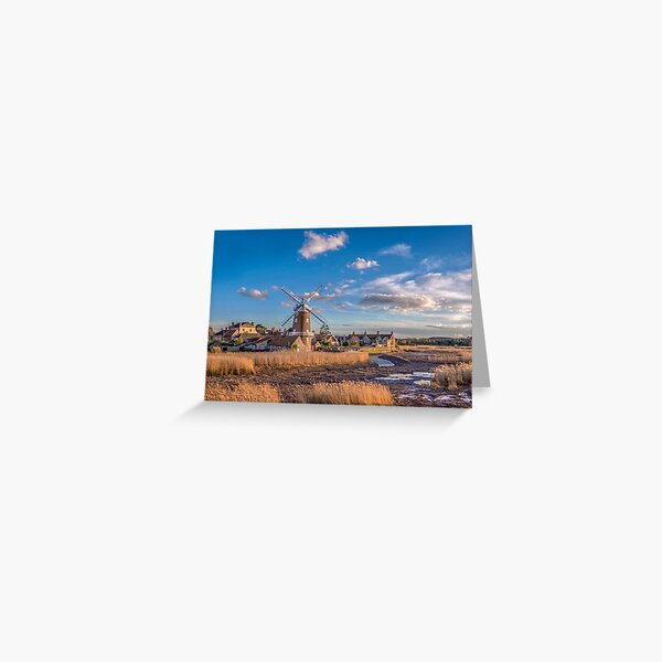Cley next the Sea  Norfolk Greeting Card