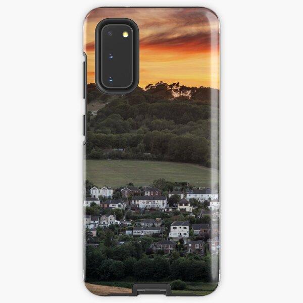 Brading Sunset Isle Of Wight Samsung Galaxy Tough Case
