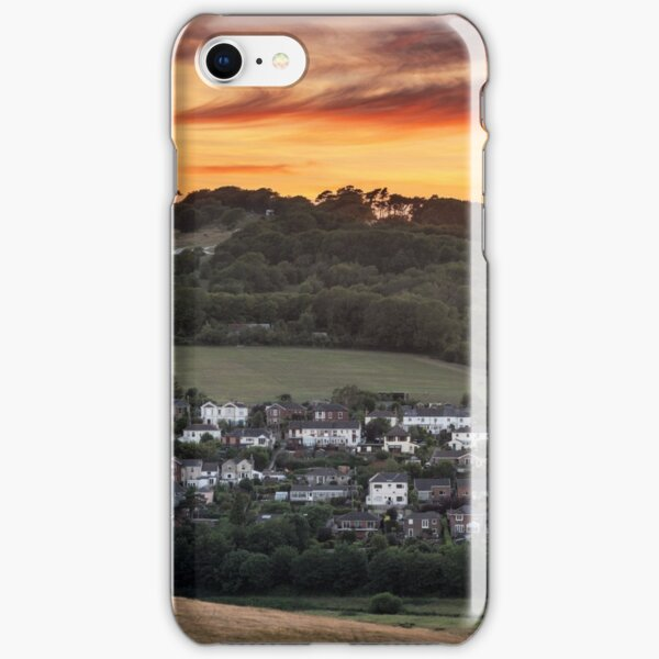 Brading Sunset Isle Of Wight iPhone Snap Case