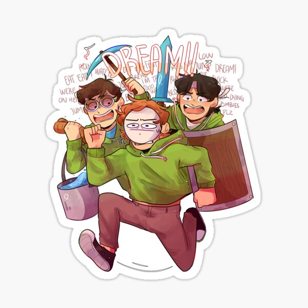 Chaotic Dream Team Sticker