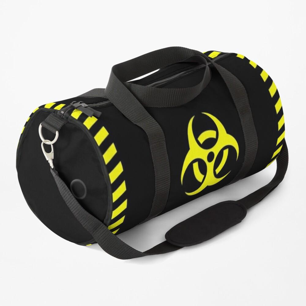 Biohazard Barrel - Black Duffle Bag