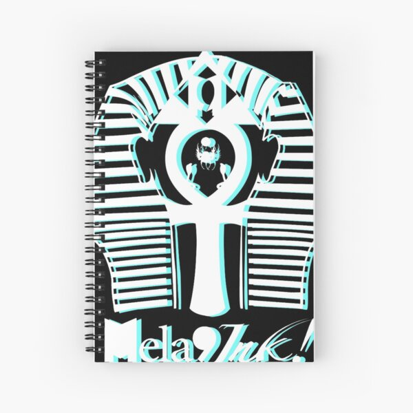 Phresh Pharaoh #2: Turquoise Double Vision Graphic T-shirt Spiral Notebook
