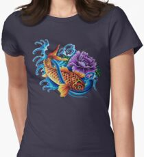 Vivid Koi Women's Fitted T-Shirt