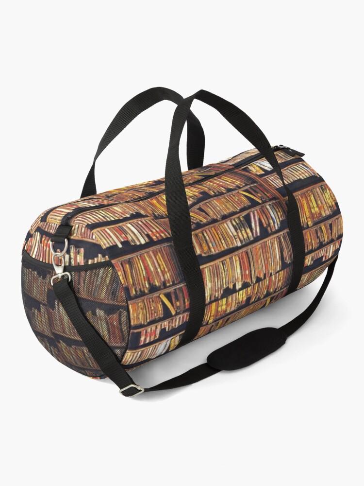 Alternate view of Bibliophile Duffle Bag