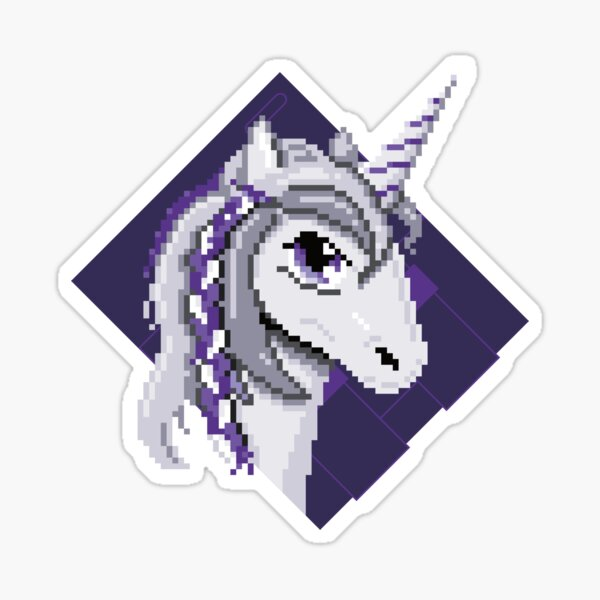 SNESicorn (Legendary Gaming Series) Sticker