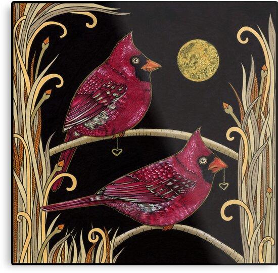 Cardinals by Anita Inverarity
