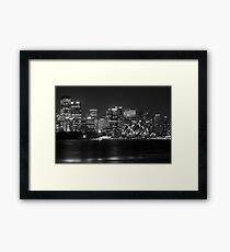 Sydney Opera House Mono Framed Print