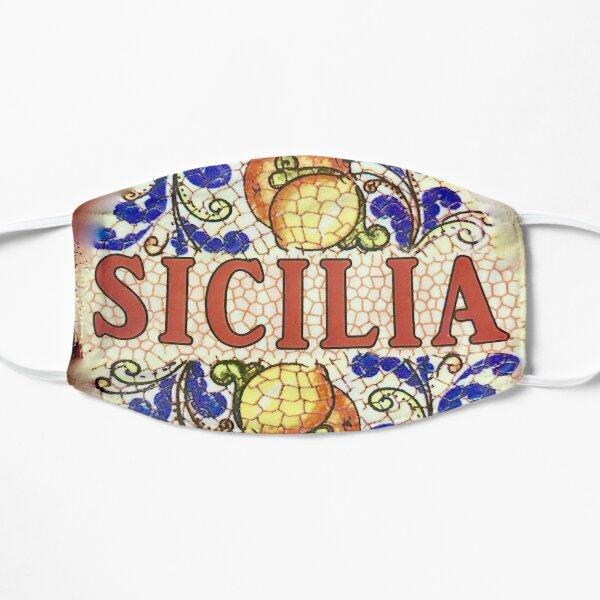 Classic Sicilia Ceramic Pattern Flat Mask