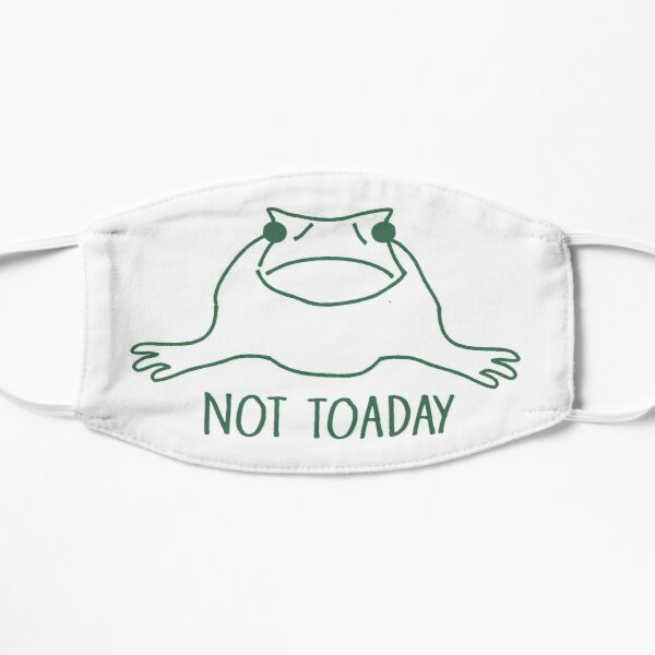 Not Toaday Sad Toad Mask