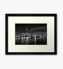 London Shard Framed Print