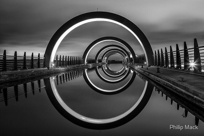 Quot Falkirk Wheel Quot By Philip Mack Redbubble