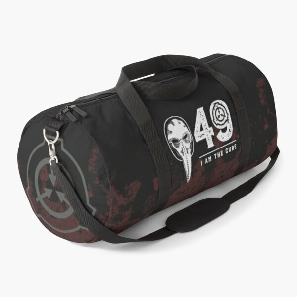 SCP-049 Plague Doctor SCP Foundation - I Am The Cure Duffle Bag