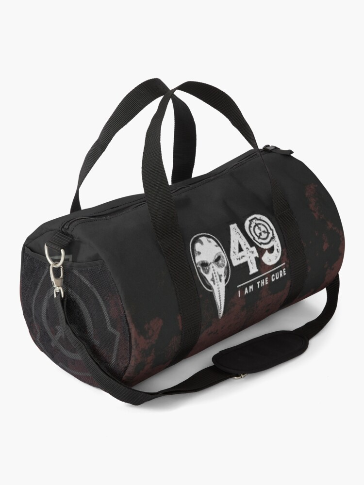 Alternate view of SCP-049 Plague Doctor SCP Foundation - I Am The Cure Duffle Bag