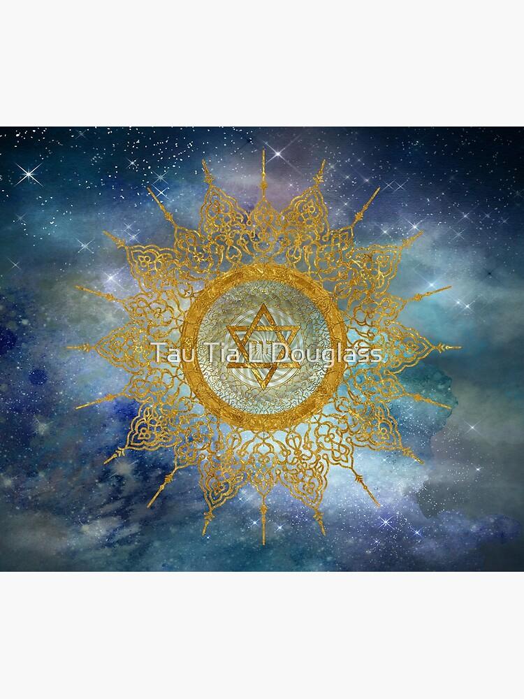 YHVH Gold Mandala by PurplePeacock