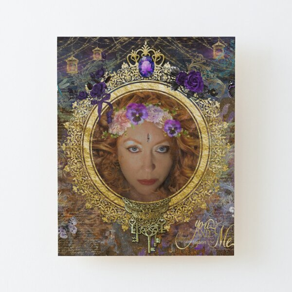 May Queen Wood Mounted Print
