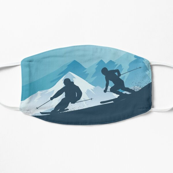 Best Skiing Design Ever Mask