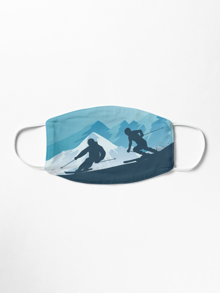 Alternate view of Best Skiing Design Ever Mask