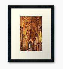 St. Patrick's Golden Arches Framed Print