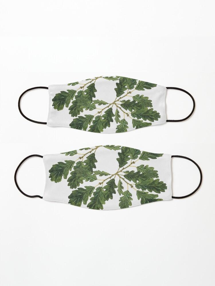 Alternate view of Oak leaf ensemble   Mask