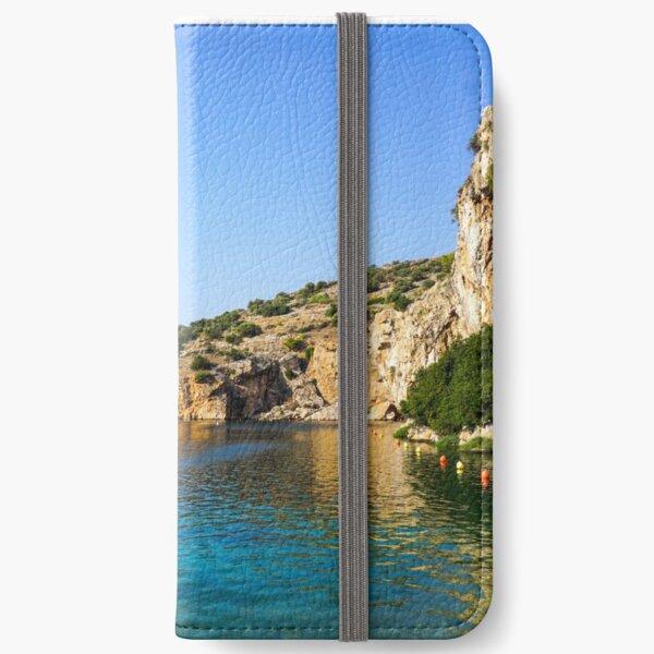 Lake Vouliagmeni, Athens, Varkiza, Greece iPhone Wallet