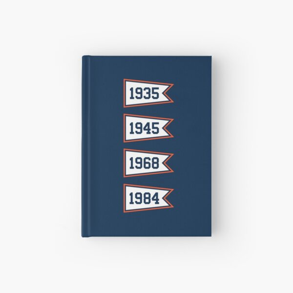 DET Pennants Hardcover Journal