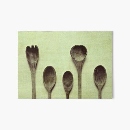 Spoons Art Board Print