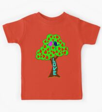 °•Ƹ̵̡Ӝ̵̨̄Ʒ♥Sweet Lovebirds Kissing on a Romantic Love Tree Clothing & Stickers♥Ƹ̵̡Ӝ̵̨̄Ʒ•° Kids Tee