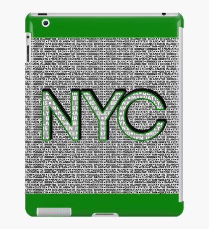 The Five Boroughs NYC iPad Case/Skin