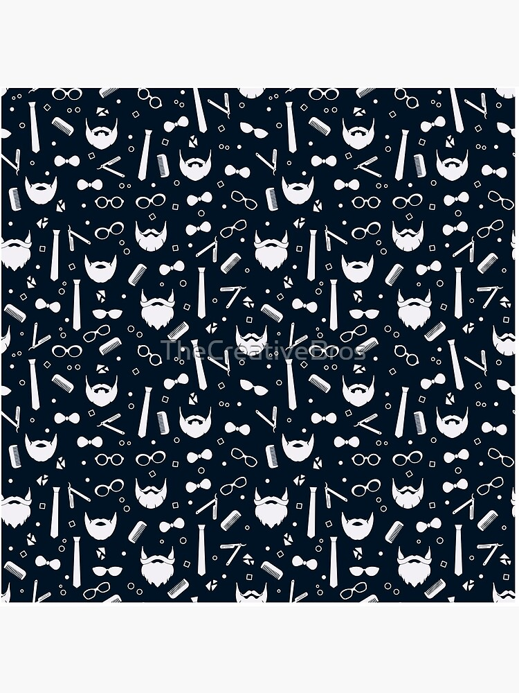 Hipster Fashion Seamless Pattern by TheCreativeBros