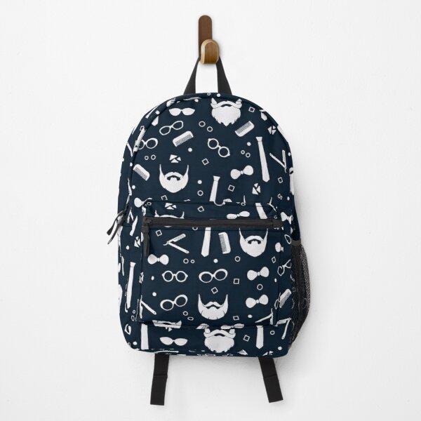 Hipster Fashion Seamless Pattern Backpack