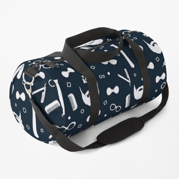 Hipster Fashion Seamless Pattern Duffle Bag