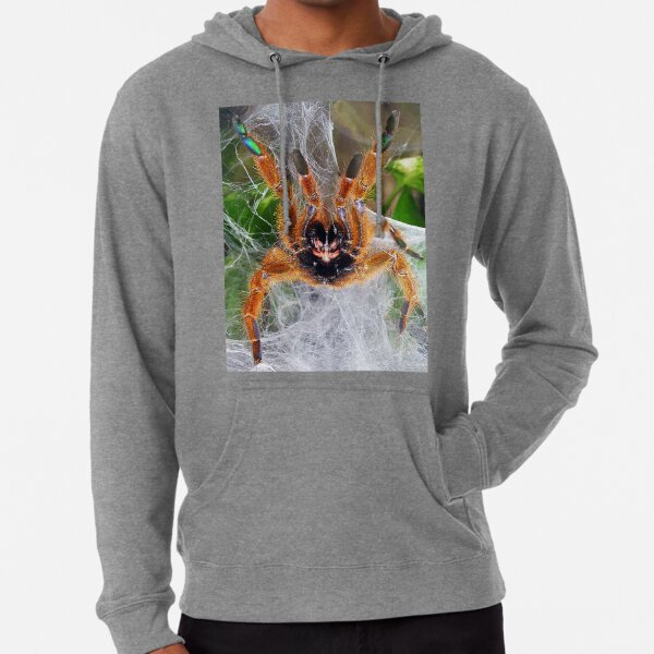 Orange Baboon Fangs! Lightweight Hoodie