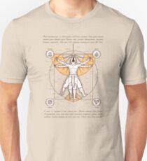 Vitruvian Aang Unisex T-Shirt