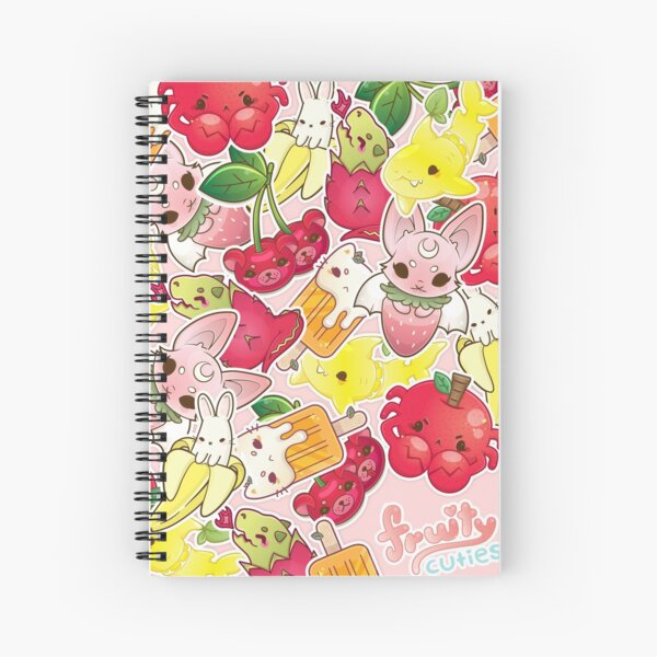 Fruity Cuties Spiral Notebook
