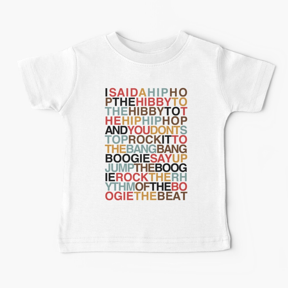 Rapper's Delight - Sugarhill Gang Baby T-Shirt