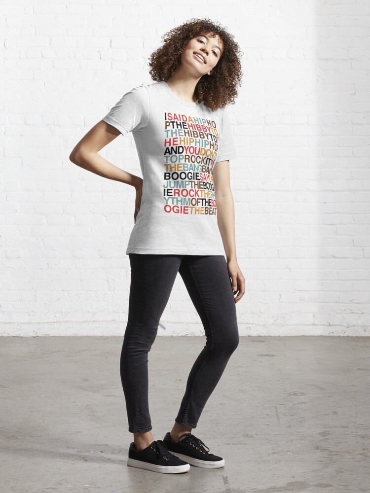 Alternate view of Rapper's Delight - Sugarhill Gang Essential T-Shirt