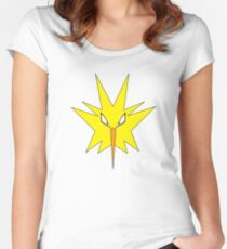 Pokemon - Zapdos Women's Fitted Scoop T-Shirt