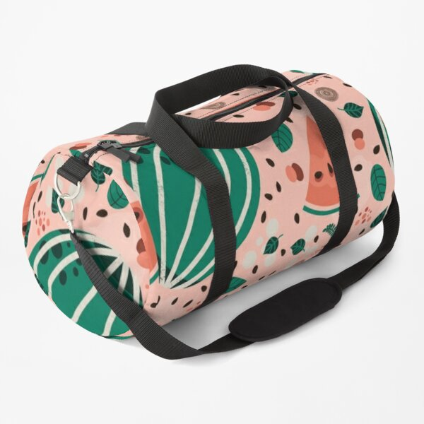 Playful Watermelon Seamless Pattern Duffle Bag