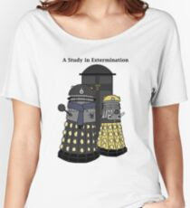 A Study in Extermination Women's Relaxed Fit T-Shirt