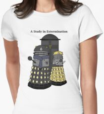 A Study in Extermination Womens Fitted T-Shirt