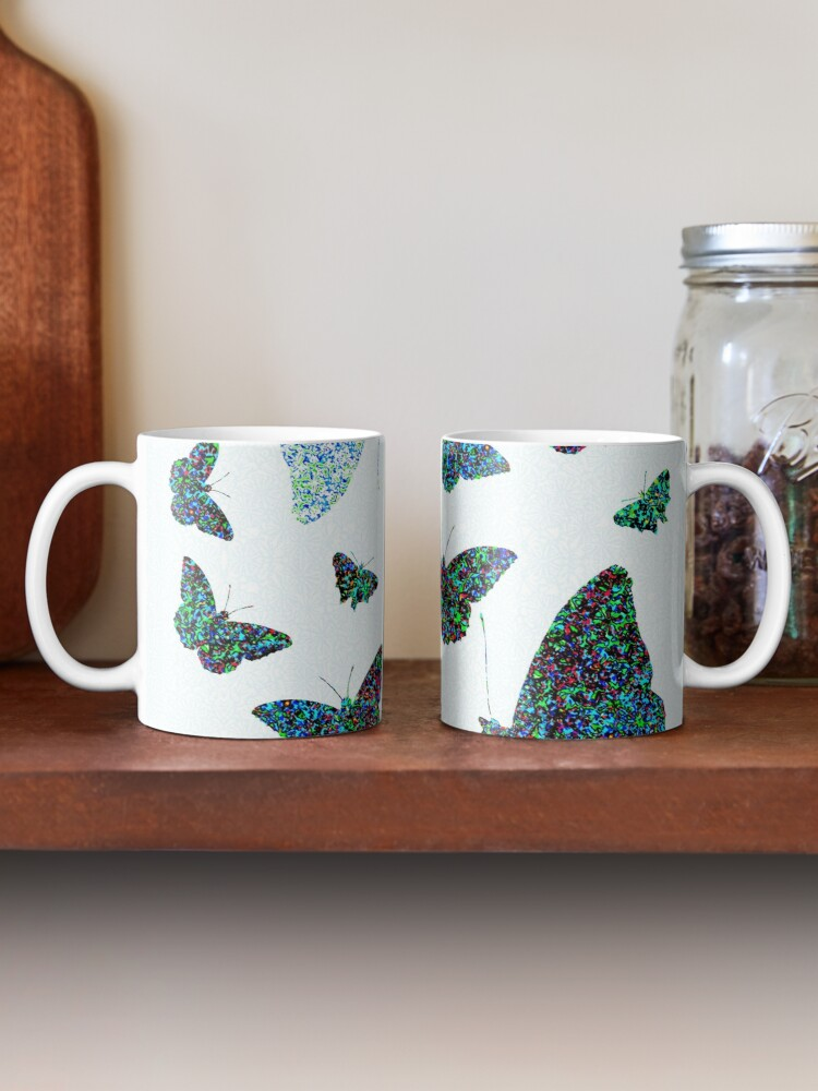 Alternate view of Modern butterfly  Mug