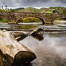 Bridge near Cymer Abbey by mlphoto