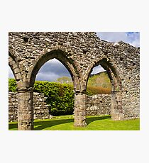 Cymer Abbey Snowdonia Photographic Print