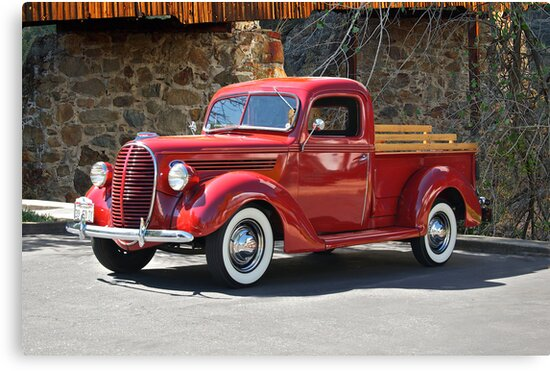 """1939 Ford V8 Pick-Up Truck"" Canvas Prints by DaveKoontz ..."