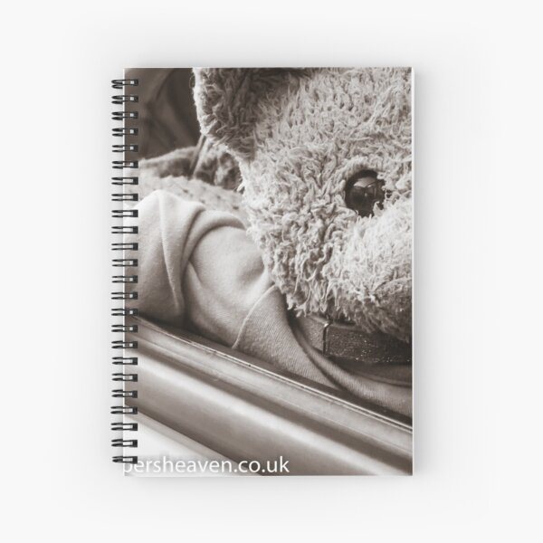 JoJo Bear in his car  Spiral Notebook